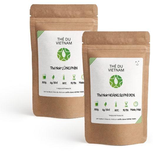 SPECIAL PACK: POWERFUL BLACK TEAS | Vietnam tea