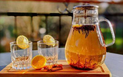 """La recette du thé noir détox """"Lendemains Difficiles"""" made by """"Thé du Vietnam"""" !"""