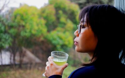 Il pleut, et il n'y a pas grand chose à faire.. à part déguster une bonne tasse de TÂY CÔN LĨNH Vert ! 🏡🍵